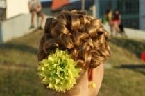 Классические прически на длинные волосы