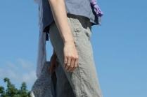 С чем носить укороченные брюки со стрелками