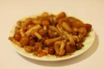 Суп из плавленных сырков с грибами