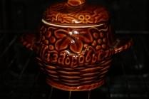 Суп в горшочке в духовке