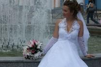 Ленточная мода на свадебные букеты