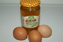 Маски для лица из яиц и меда