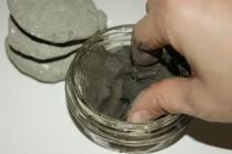 Маска от целлюлита из голубой глины
