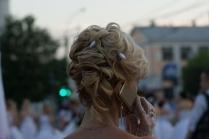 Причёски с кудрями на длинные волосы с челкой