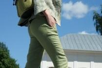 С чем носить джинсы по щиколотку