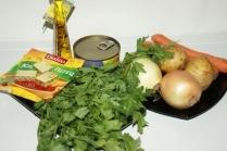 Суп в мультиварке из тушенки