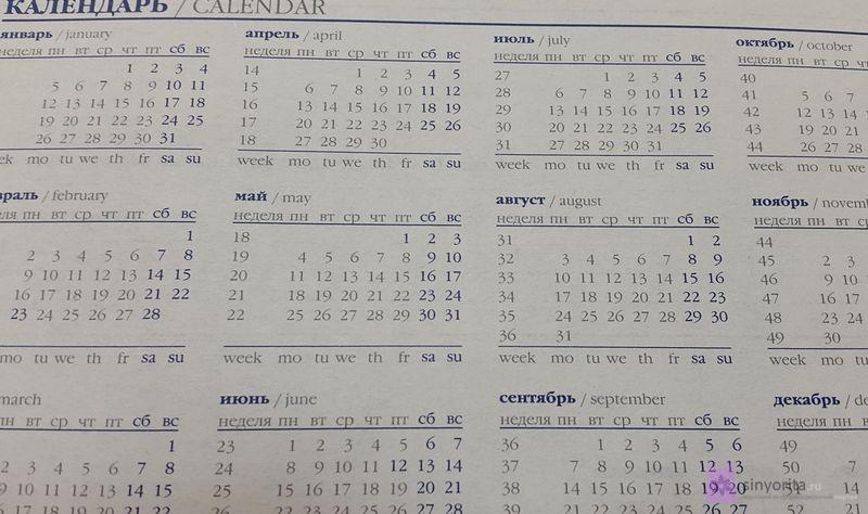 Календарь беременности по последним месячным калькулятор