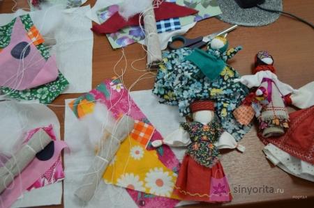 """Поделки из ткани """"Коробочка идей и мастер-классов"""